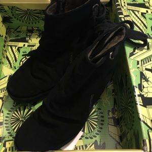 Fly london yama oil suede boots 37